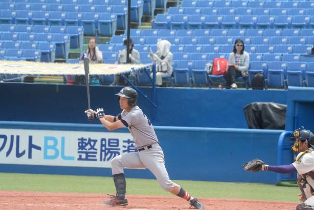 3安打1盗塁の活躍をみせた倉田