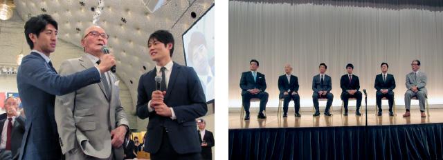 東京六大学野球連盟創設90周年記念式典・祝賀会の様子3
