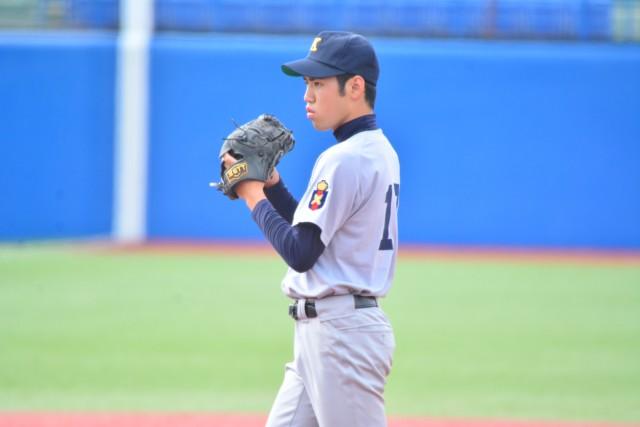 0531新人戦 東京 球数僅か95球で完封勝利を収めた衞藤