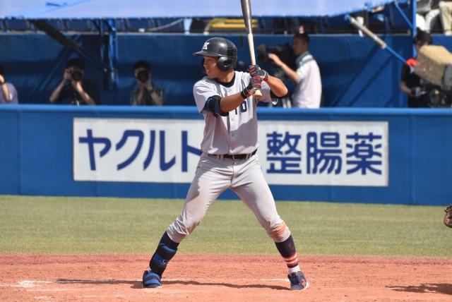 0506法政① リーグ戦初本塁打が貴重な同点弾となった清水翔