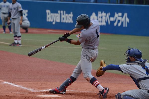0415東京②5回に勝ち越しの適時打を放った柳町
